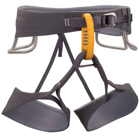 Black Diamond M's Solution Harness Black-Slate